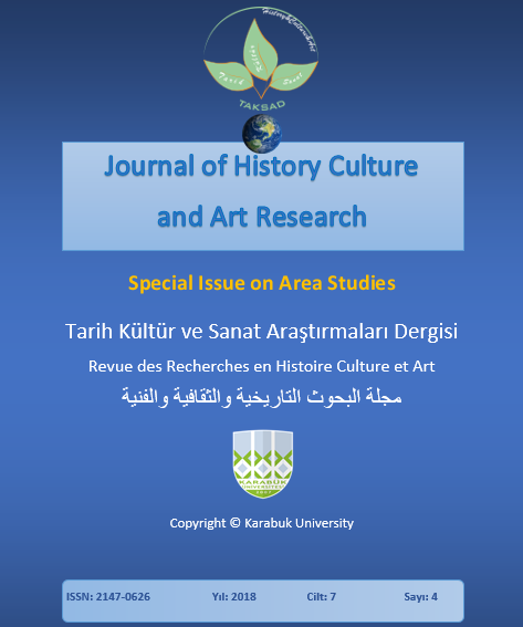 View Vol. 7 No. 4 (2018): Journal of History Culture and Art Research 7(4) (Special Issue on Area Studies)