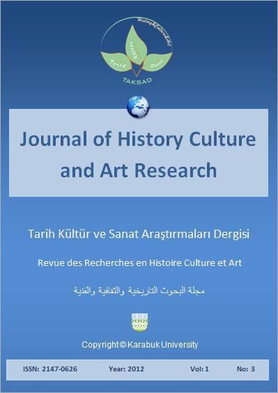 Tarih Kültür ve Sanat Araştırmaları Dergisi